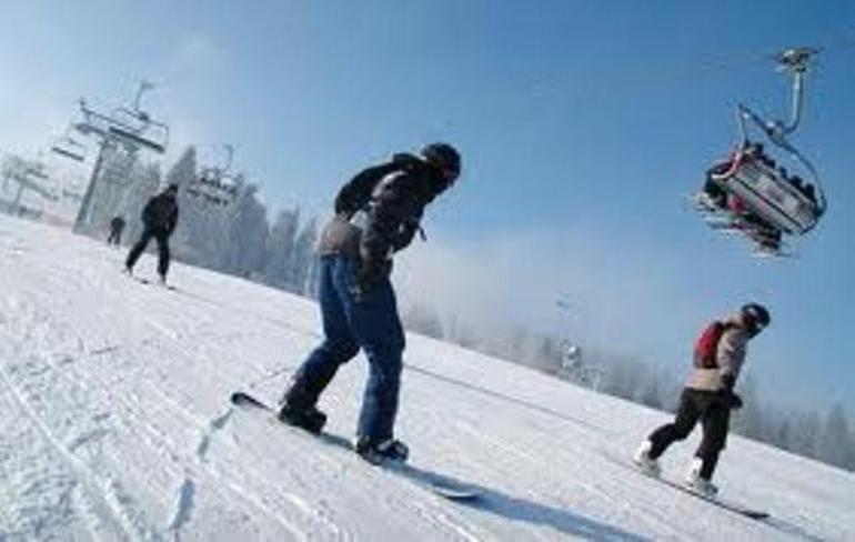Wyciąg i stok narciarski Złoty Stok w Krzeszowie