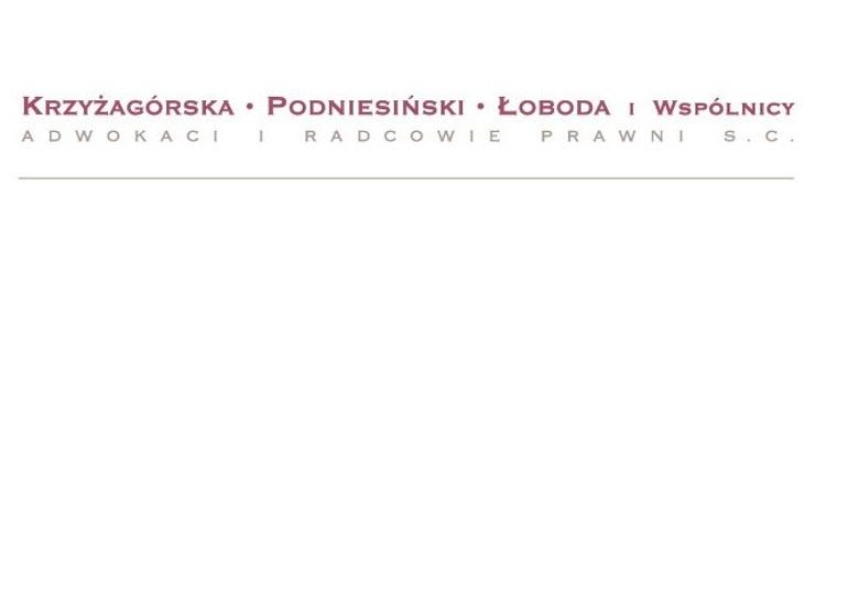 Krzyżagórska Podniesiński Łoboda i Wspól...