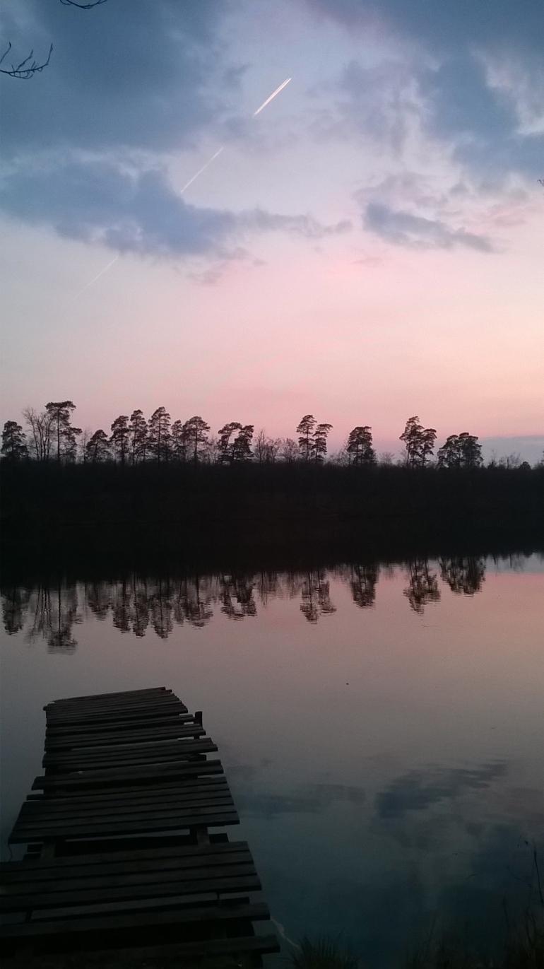 Jezioro Lubieszewko w woj. zachodniopomorskim