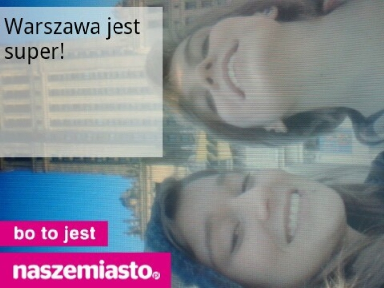 Warszawa jest super!