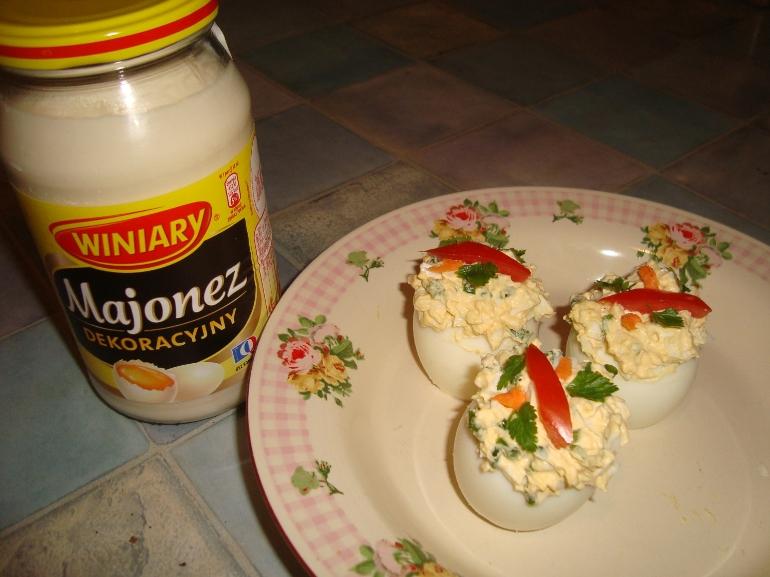 Jajka faszerowane ze smakiem