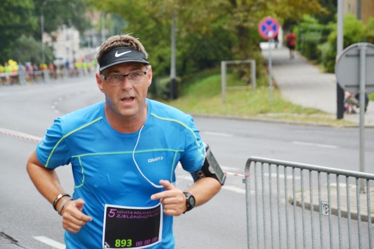 Mariusz Grabowy, drużyna Zielona Góro Zacznij Biegać, Zielona Góra