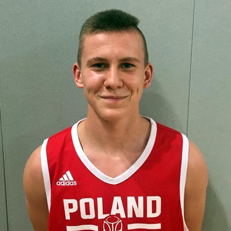Adrian Sobkowiak (Basket Piła) – koszykówka