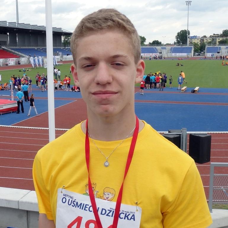 Eryk Lamtschek (Gwda Piła) – lekka atletyka