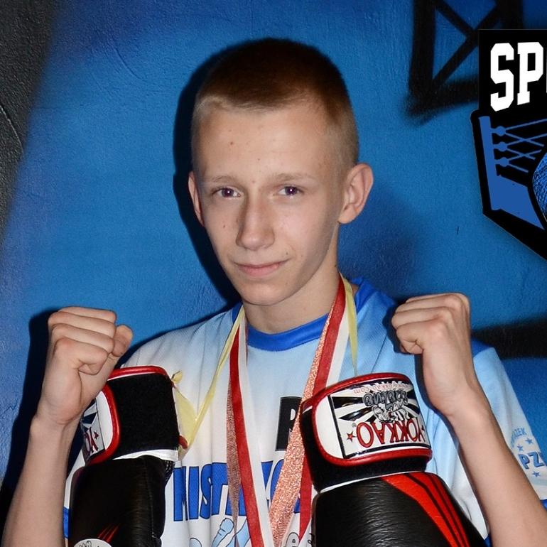 Piotr Woźniak (Sporty Walki Piła) – kickboxing