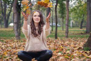 Miłośniczka jesieni to...