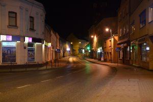 Na początek łatwe – w centrum Sępólna, to ulica…